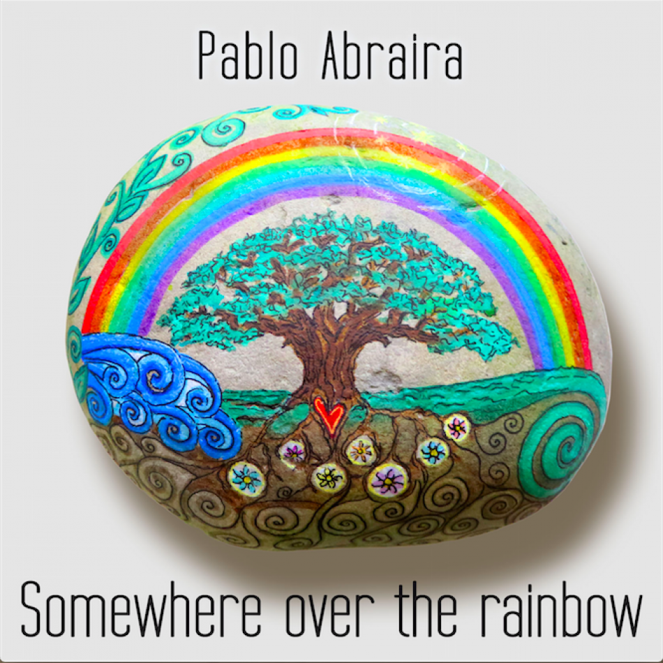 "Caratula ""Somewhere over the rainbow"""